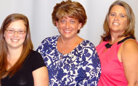 Sam, Lizabeth & Tammy